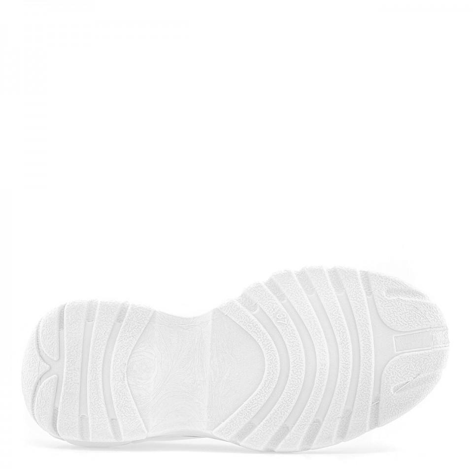 Damskie buty sportowe z grubą, antypoślizgową podeszwą